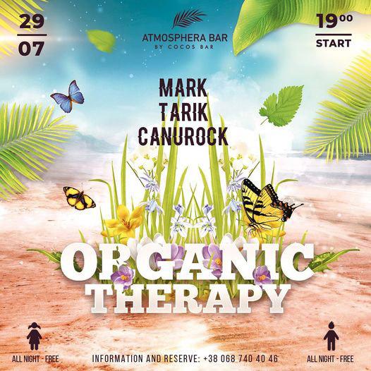 "Вечеринка ""Оrganic therapy"""