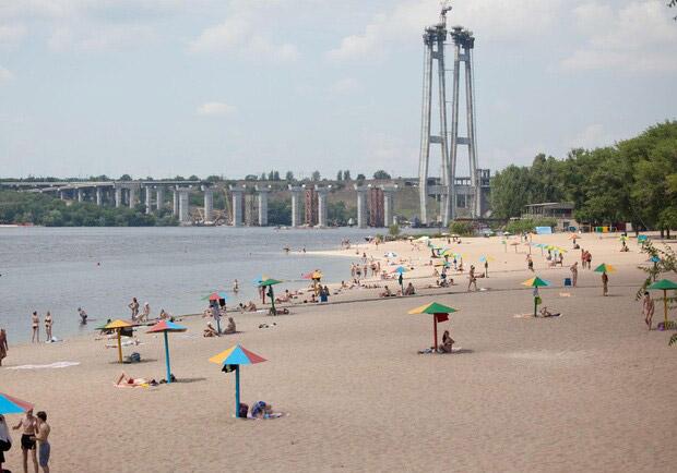 Центральный пляж Запорожья