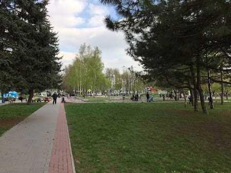 Парк поколений в Хортицком районе