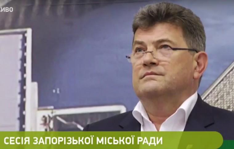 Мэр Запорожья Владимир Буряк заявил об уходе со своего поста (видео)