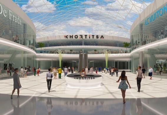 Собственники запорожского ТРЦ Khortitsa Mall рассказали о том, какие заведения и развлечения будут в крупнейшем торговом центре города (фото)