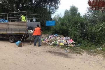 В Запорожье объявление о мусоре вызвало резонанс в Сети (фото)
