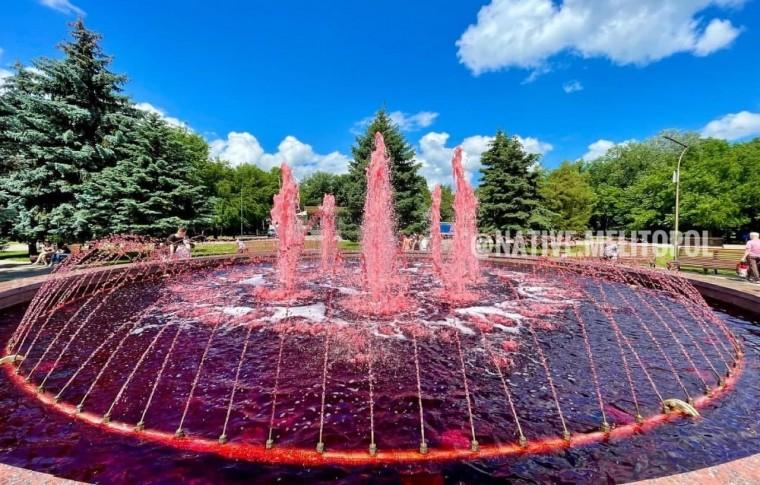 Кровавый фонтан: в Запорожской области новаторство от местной власти шокировало местных жителей (фото, видео)
